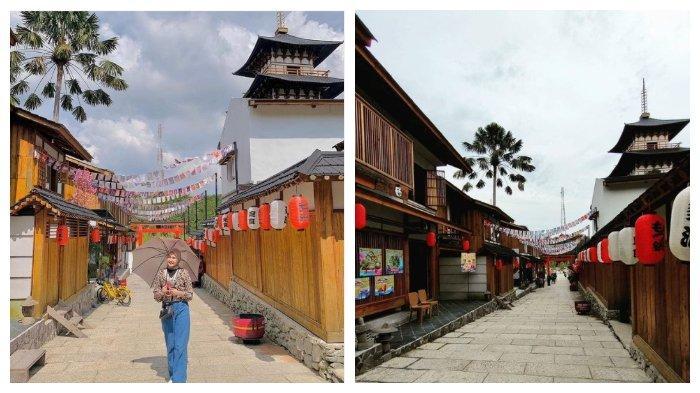 Spot foto Instagramable di Asia Heritage, dengan bangunan-bangunan ala Negeri Sakura