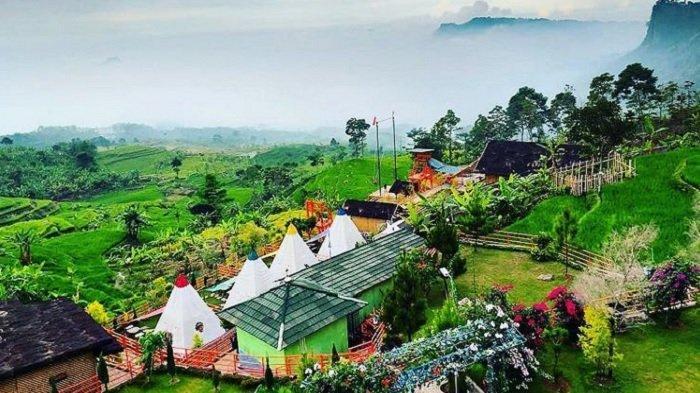 Tarif Menginap di Tenda Indian dan Tenda Gunung Batu Villa Khayangan Bogor Terbaru 2021