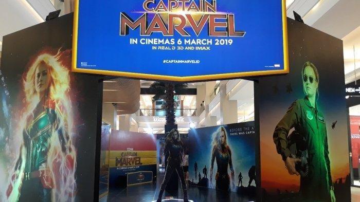 Spot Foto Bertema Captain Marvel Hadir di Mal Kota Kasablanka, Ada Hadiah Menarik untuk Pengunjung