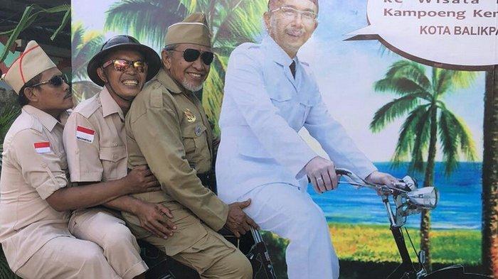 Kampung Wisata di Balikpapan Ini Tawarkan Spot Selfie Tempoe Doeloe untuk Pengunjung