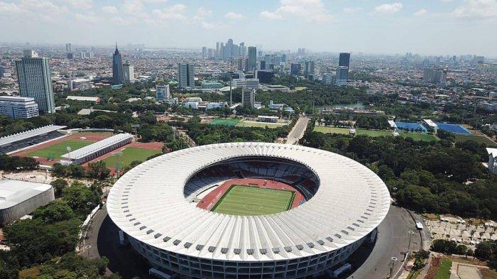 Stadion Utama Gelora Bung Karno (SUGBK) r memesona.