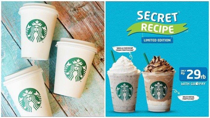 Promo Maret 2019 - Starbucks Memberikan Harga Spesial Hanya Rp 29 Ribu Saja, Pembelian dengan GoPay