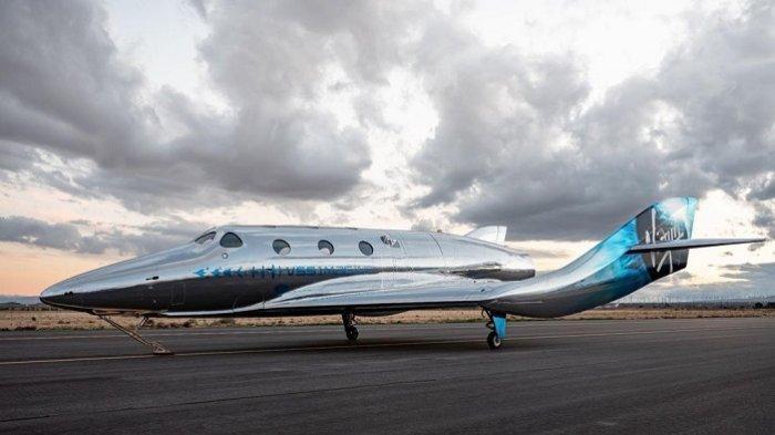 Debut Pesawat Virgin Galactic Terbaru, Diproyeksikan untuk Pariwisata Luar Angkasa
