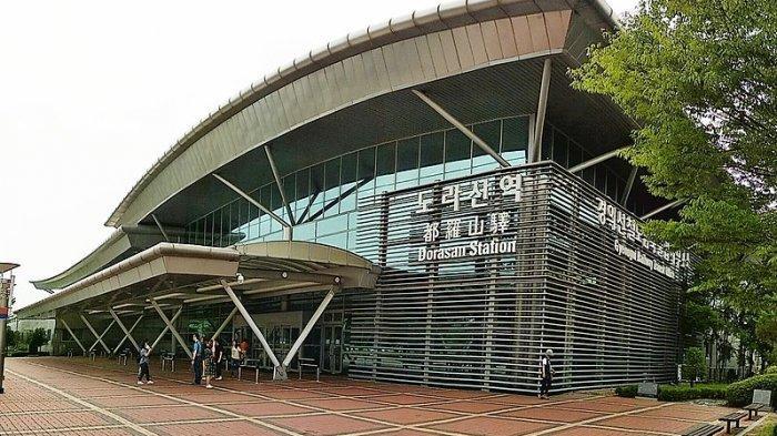 Stasiun Dorasan di Korea Selatan