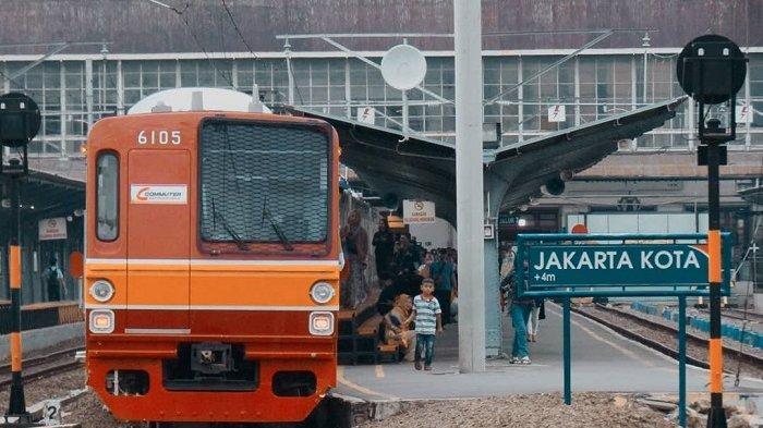 Cegah Penyebaran Virus Corona, PT KAI Sediakan Wastafel Portable di Sejumlah Stasiun KRL