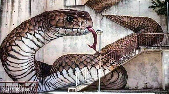 Bukan Hanya Jalan Setapak, 10 Spot Street Art di Tangga Ini Instagenic Banget