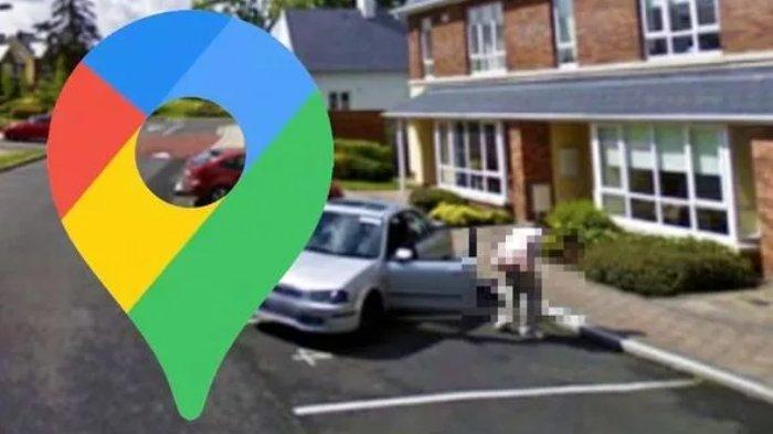 Google Maps Street View Tangkap Aksi 'Nakal' Seorang Pria yang Sengaja Tunjukkan Bagian Tubuhnya