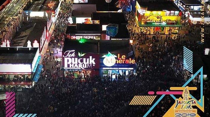Suasana Keramaian di Jakarta Fair Kemayoran