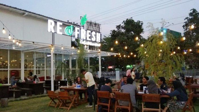Usung Konsep Nongkrong Seperti di Rumah Sendiri, Refresh Cafe Jadi Referensi Kuliner Baru di Jogja