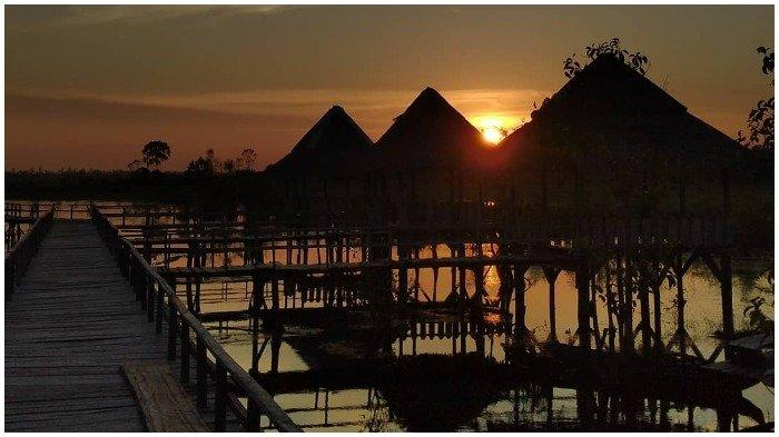 TRAVEL UPDATE: Menjelajah Sungai Upang Tanah Bawah, Tempat Wisata di Bangka dengan Pemandangan Indah