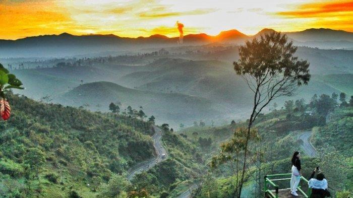 Sunrise Point Cukul Pangalengan, Kabupaten Bandung