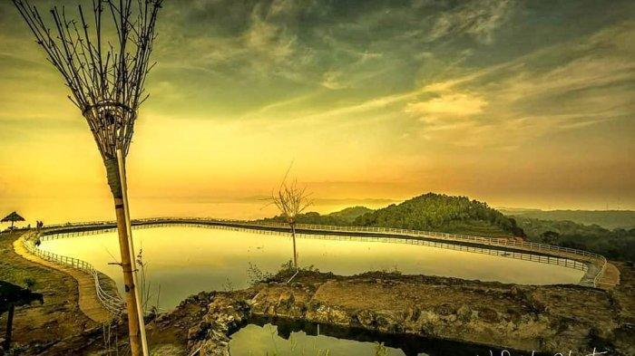 Nikmati Indahnya Sunset di Embung Nglanggeran, Tempat Wisata Populer di Gunungkidul