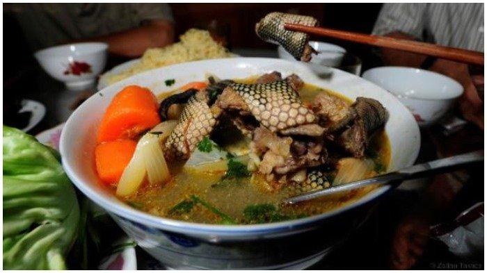 Nguyen Van Duc, Restoran di Vietnam yang Tawarkan Sajian Berbahan Ular