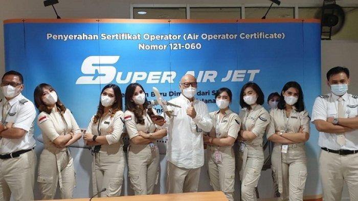 Awak kabin Super Air Jet