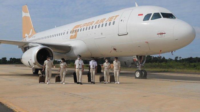 Super Air Jet Terbang Perdana Jakarta-Palembang PP, Tiket Pesawat Mulai Rp 367 Ribu Sekali Jalan