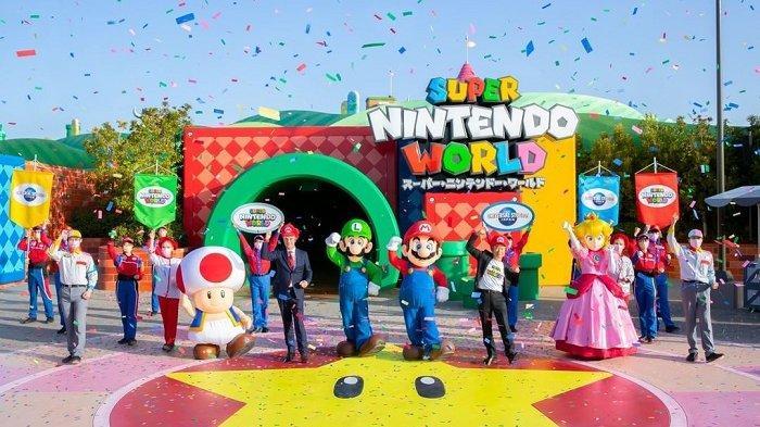Sempat Ditunda Akibat Covid-19, Super Nintendo World di Jepang Akhirnya Resmi Dibuka