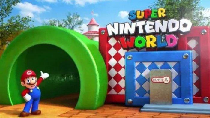 Potret Super Nintendo World, Taman Hiburan di Jepang yang Dibuka Tahun 2021