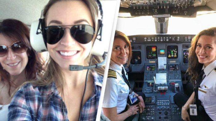 Suzy dan Donna, Ibu dan putrinya yang menjadi pilot