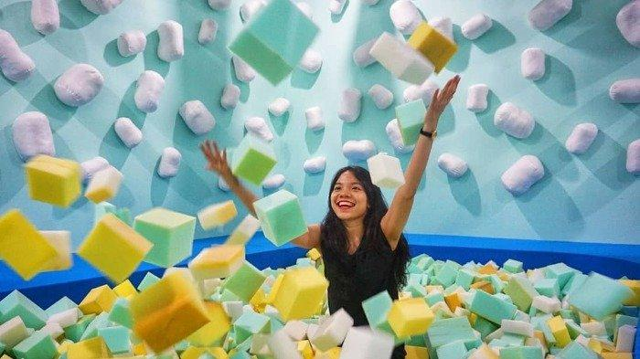Intip Keunikan Wahana Sweet Treats di Scientia Square Park Serpong yang Instagramble