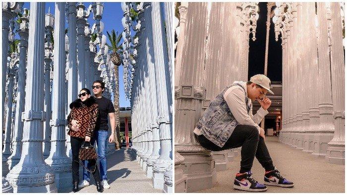 Liburan Artis - Selain Syahrini, Intip Pose Keren Glenn Alinskie saat Kunjungi LACMA di Los Angeles
