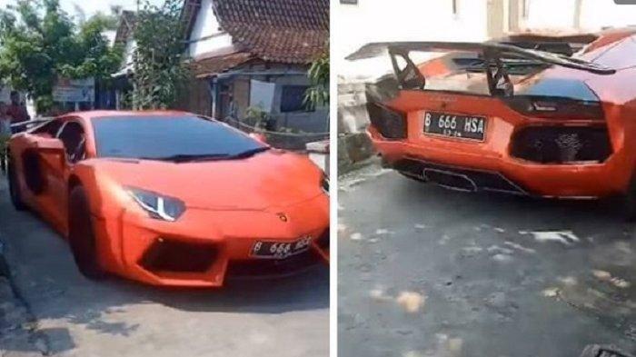 Viral Cerita Sukses Pedagang Pecel Lele Lamongan Pulang Kampung Naik Lamborghini