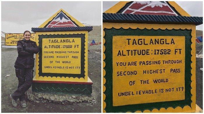 Donna Agnesia Kunjungi Jalur Gunung Tertinggi Kedua di Dunia