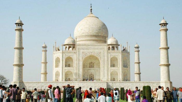 Meski Masih Pandemi, India Tambah Kuota Kunjungan ke Taj Mahal