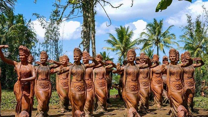 Dipenuhi Ratusan Patung Penari, Ini Potret Taman Gandrung Terakota Banyuwangi