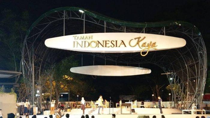 Semarang Kini Punya Taman Indonesia Kaya, Taman dengan Panggung Pertunjukan Berkapasitas 1000 Orang