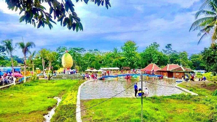 TRAVEL UPDATE: Serunya Liburan ke Taman Jlengut Klaten, Ada Wisata Air hingga Kebun Binatang Mini