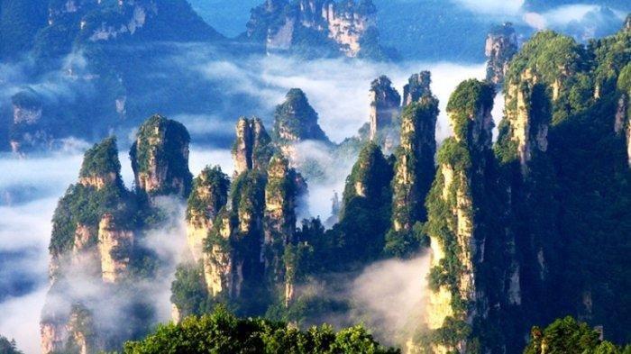 Taman Nasional Zhangjiajie, Situs Warisan Dunia dengan Pemandangan Mirip di Negeri Avatar