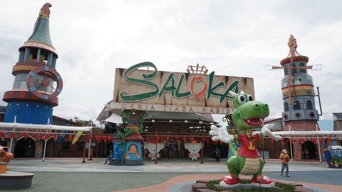 Cara Beli Tiket Non-Terusan Saloka Theme Park Semarang, Harganya Cuma Rp 30 Ribu