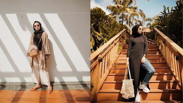 Traveling Anti Ribet! Referensi Hijab Kasual ala Selebgram Joyagh di Bawah Harga Rp 500 Ribu