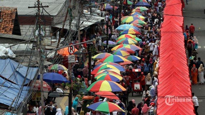 Pasar Tanah Abang.