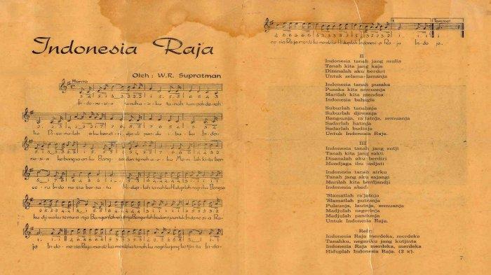 Fakta di Balik Lagu Kebangsaan Indonesia Raya, Liriknya Mampu Bangkitkan Semangat Nasionalisme