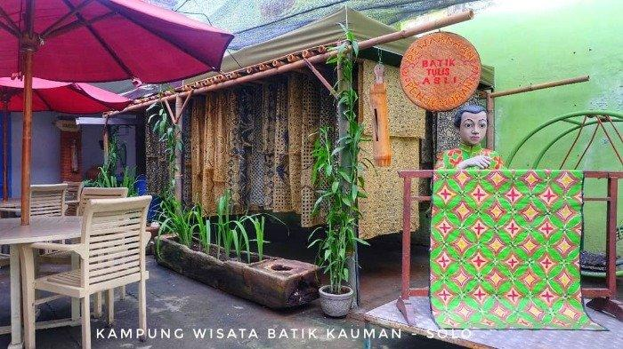 Tempat wisata Kampung Batik Kauman, Solo, Senin (13/7/2020).