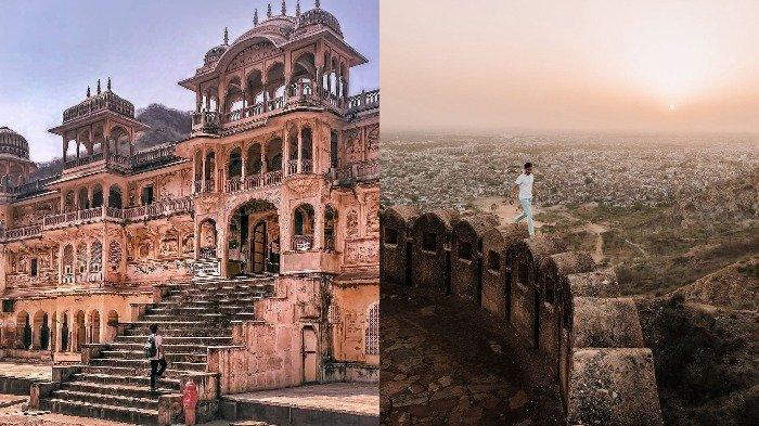 10 Tempat Wisata di Jaipur India yang Instagenik, Jantar Mantar Masuk Situs Warisan Dunia UNESCO