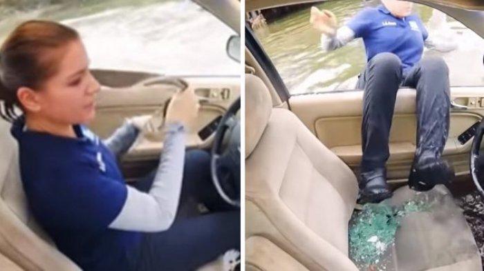 Jangan Panik! Ini yang Harus Kamu Lakukan Jika Terjebak di Dalam Mobil yang Tenggelam