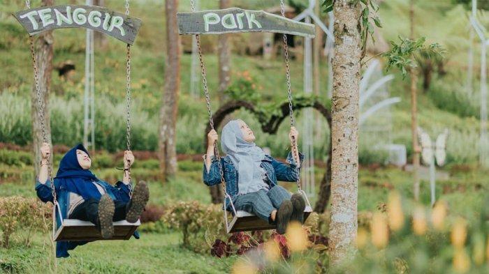 Liburan ke Tenggir Park, Tempat Wisata Baru di Tawangmangu Karanganyar yang Penuh Pepohonan