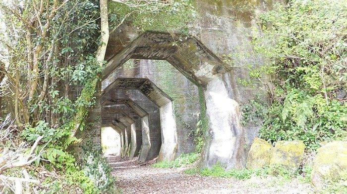 Menelusuri Terowongan Misterius di Pegunungan Kyushu, Serasa Memasuki Dimensi Lain