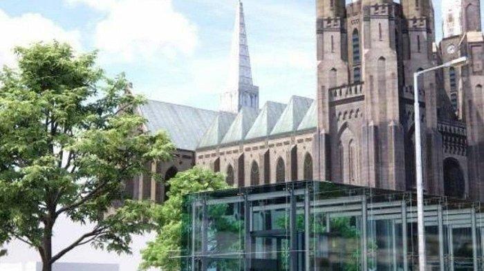Potret Pembangunan Terowongan Silaturahmi, Hubungkan Masjid Istiqlal dan Gereja Katedral