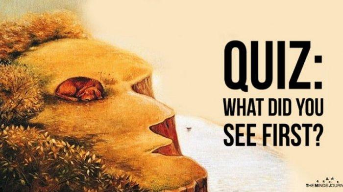Apa yang Kamu Lihat Pertama Kali di Gambar Ini Ungkapkan Sesuatu yang Lagi Kamu Cari dalam Hidup