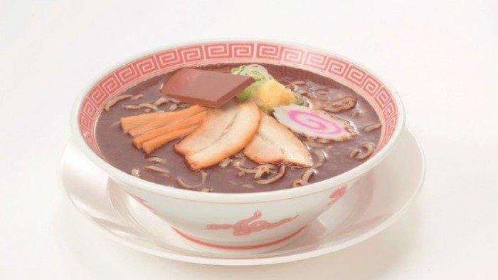 Jepang Punya Kuliner Unik, Ramen Berkuah Cokelat Spesial untuk Hari Kasih Sayang