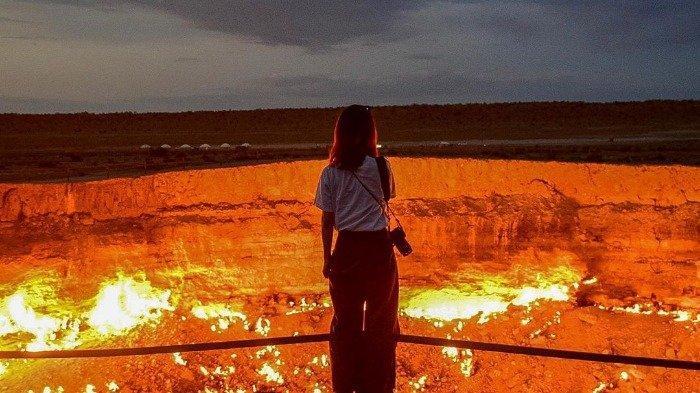The Door to Hell, Kawah Api di Turkmenistan