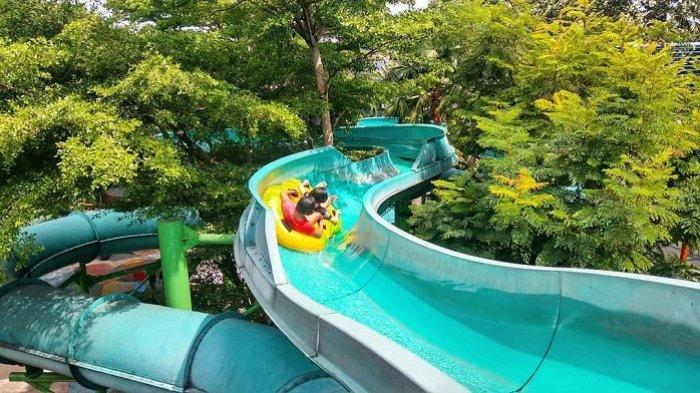 Ilustrasi destinasi wisata the jungle waterpark bogor