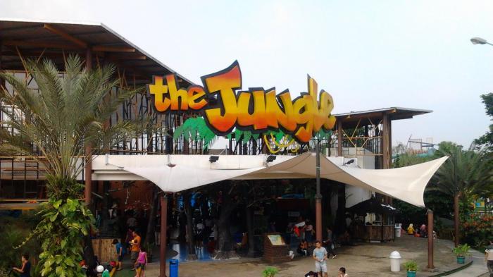 Promo Ramadan The Jungle Waterpark, 3 Orang Cuma Rp 99 Ribu, Mau?