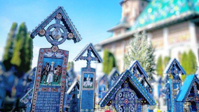 The Merry Cemetery of Sapanta, Pemakaman di Rumania yang Jauh dari Kesan Menyeramkan
