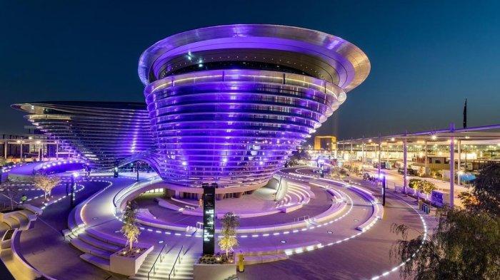 The Mobility Pavilion, salah satu situs acara Expo 2020 Dubai.
