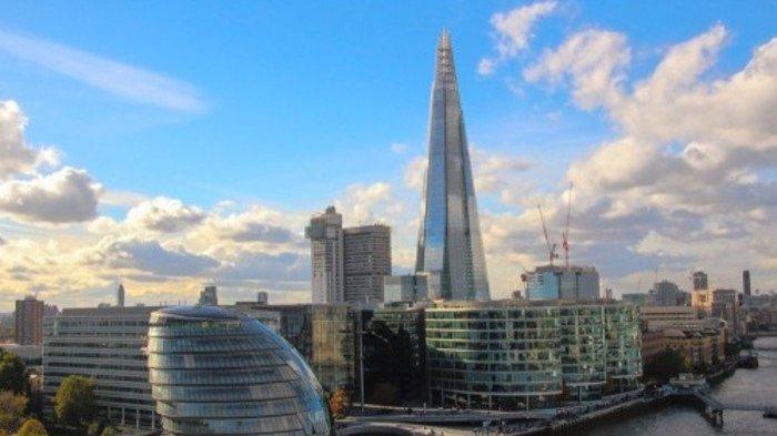 The Shard - Gedung tertinggi di Uni Eropa.
