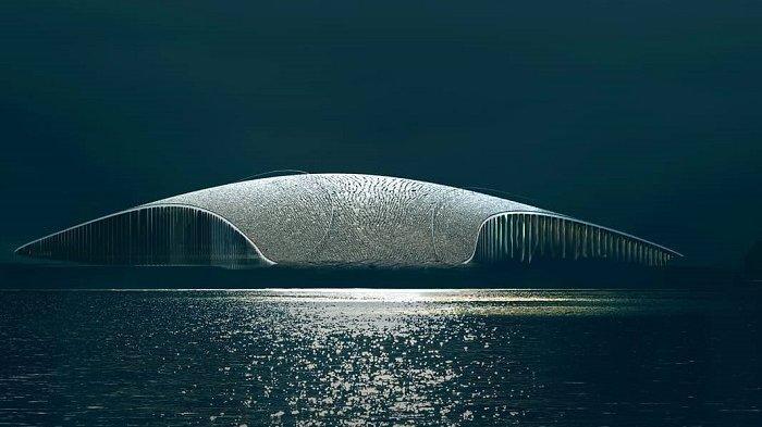 Uniknya Museum di Norwegia, Bangunannya Dirancang Mirip Seperti Ekor Ikan Paus